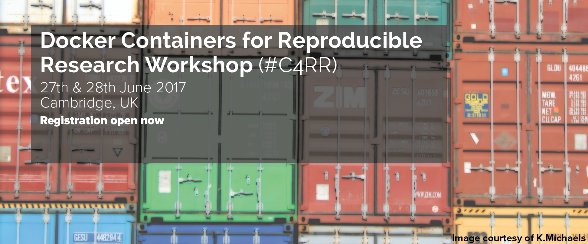 C4RR Docker Containers for Reproducible Research Workshop