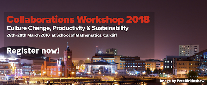 Collaborations Workshop 2018