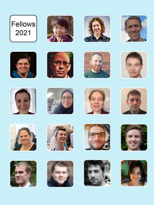 Photos of the 2021 Fellows