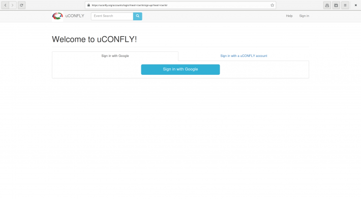 uCONFLY screenshot