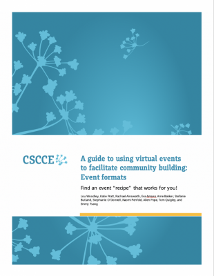 Cover page of new CSCCE guidebook
