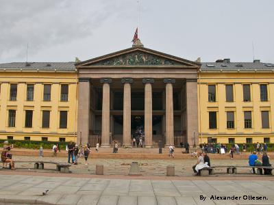 University of Oslo by Alexander Ottesen (under CC-BY).