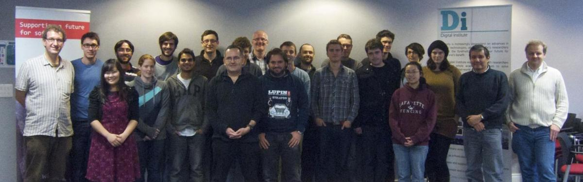 Attendees at Newcastle's October 2012 boot camp