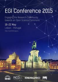 EGI Conference 2015 poster