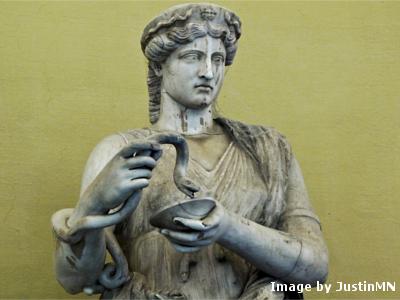 The goddess Athena, yesterday.