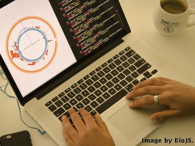 Typing BioJS
