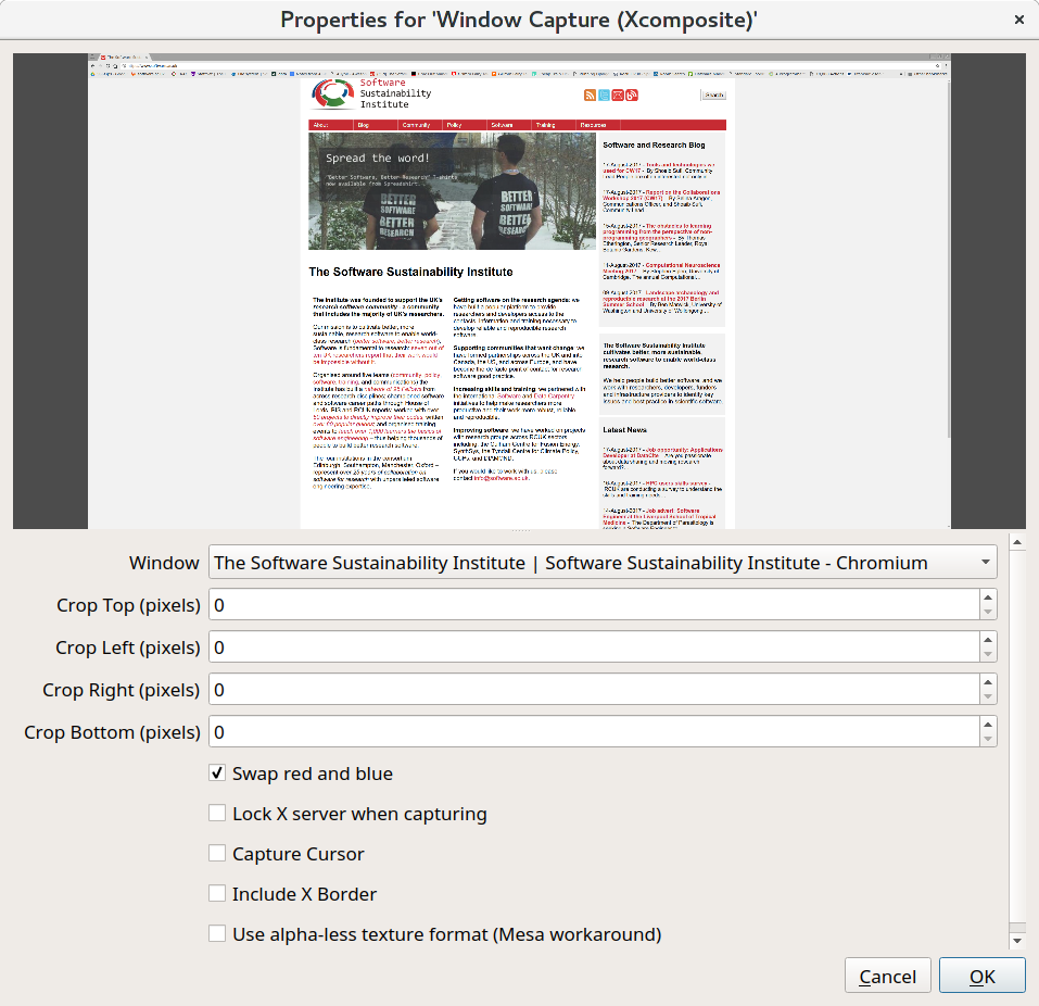 CW18 - Mini-workshop Screen Recording Guide | Software