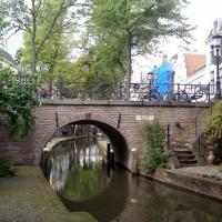 Brick bridge in Utrecht