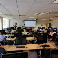 Photo of Software Carpentry workshop